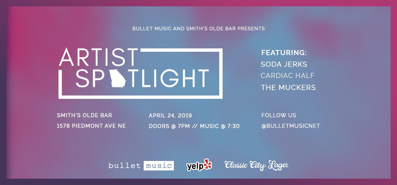 BulletMusicArtistSpotlightShowcaseApril2019