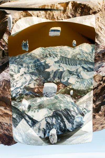 Emily Margarit Mason, rock patterns, 2018.