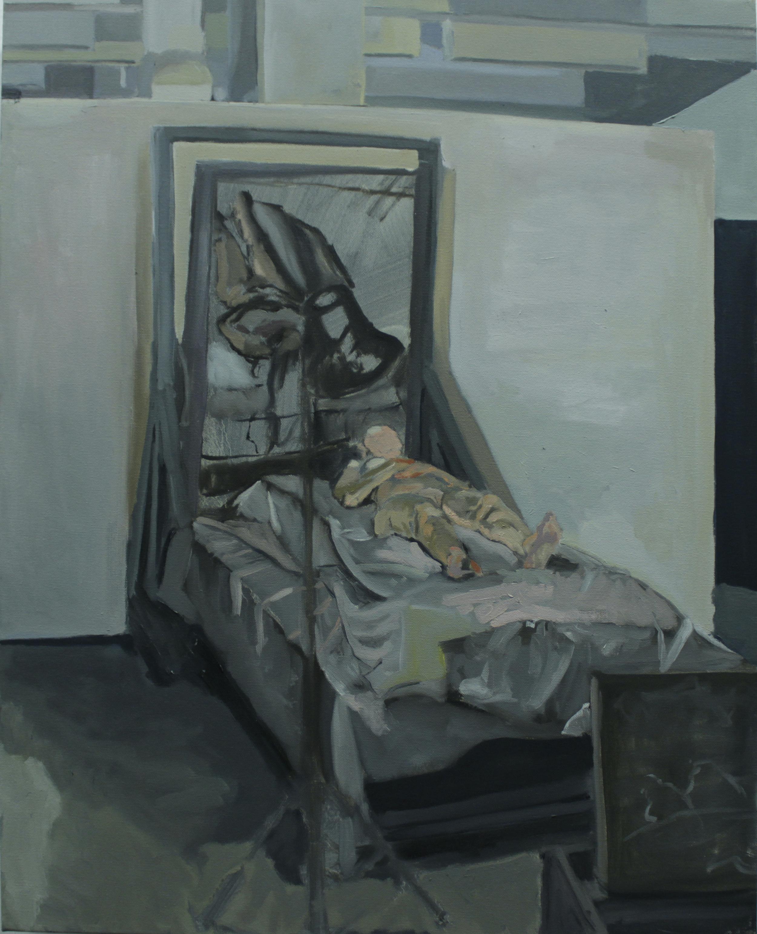 Untitled Death Pose - Study