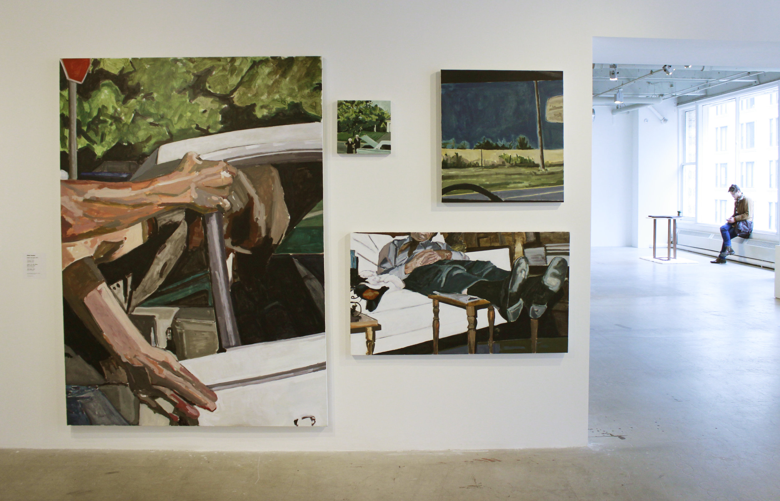 Integral Second Hand Experience  exhibited at the School of the Art Institute's annual BFA Show, 2017