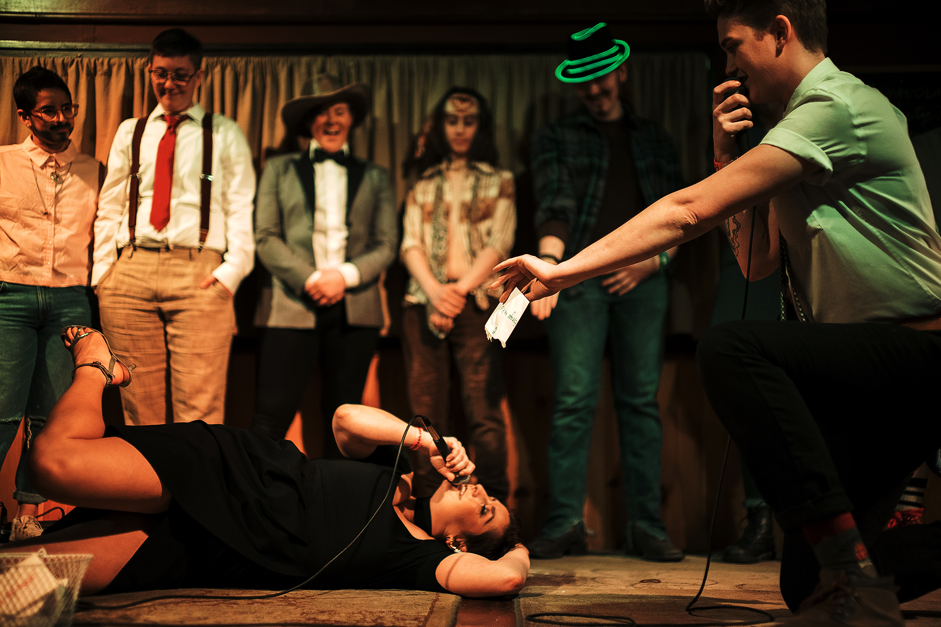 "First Iowa City drag king pageant  - April 19th, 2018""We hope to draw in and serve a wider portion of the community — our LGBTQIA+ — community, as well as our allies,"" Ellis said in an email to The Daily Iowan. ""Trumpet Blossom allowing us to use its space for this event, along with the show time of 7 p.m., allows for a broader audience, including the greatest underserved community: LGBTQIA+ youth."" - Cassie EllisREAD MORE"