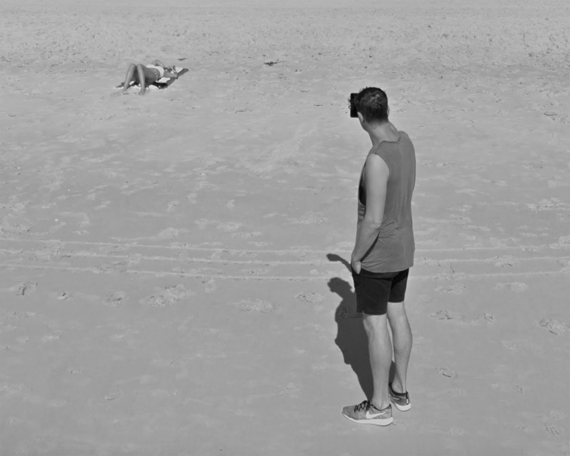 Voyeur, Google Street View, Miami Beach, Florida