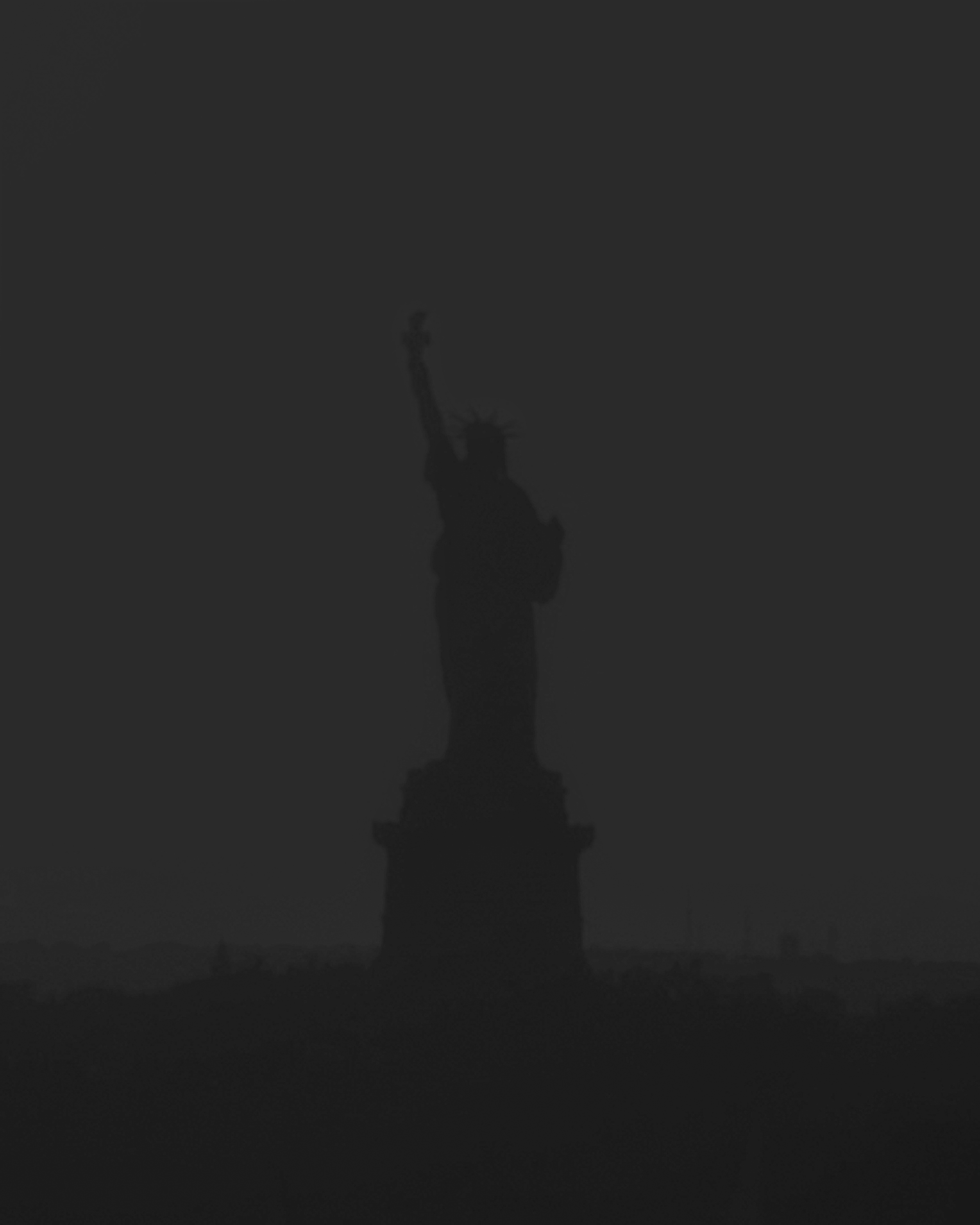 The Statue of Liberty (From a Surveillance Camera)