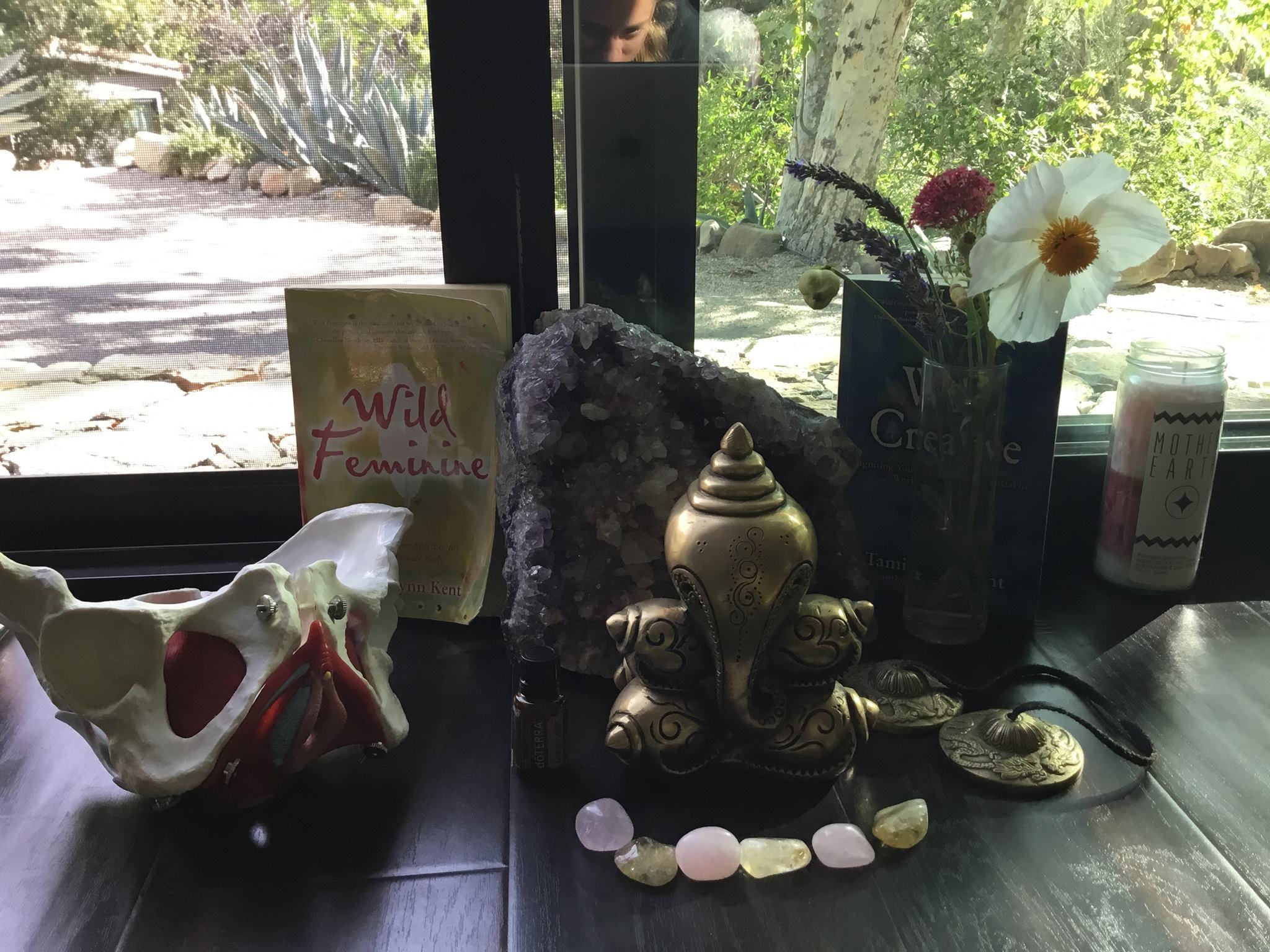 Copy of wild feminine, pelvis, healing