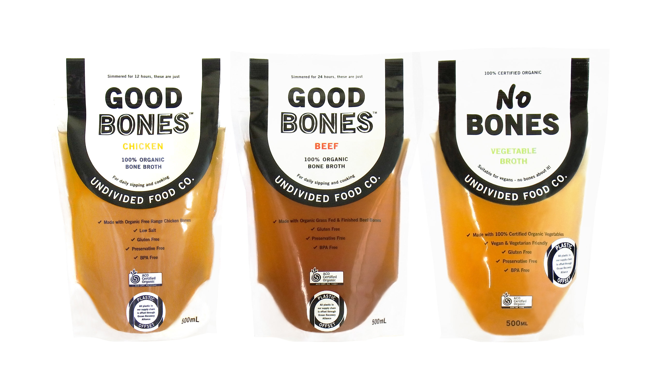 We no longer deliver chilled broth products in Sydney as they are widely available in stores. - Please order GOOD BONES™ online from Organic Meat Online for Australia-wide delivery) or go to our Stockist Page to find an online retailer in your state or purchase in-store from your nearest stockist!If you are an existing customer and would still like home delivery please email us at info@undividedfoodco.com and we will try and accommodate you in the short term. Please note we will be offering a shelf stable broth in 2020.