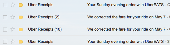 My inbox was flooded with emails like this