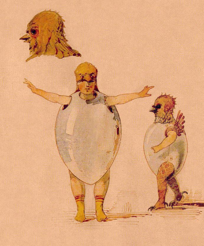 """""""Chicks"""", Viktor Hartmann"""