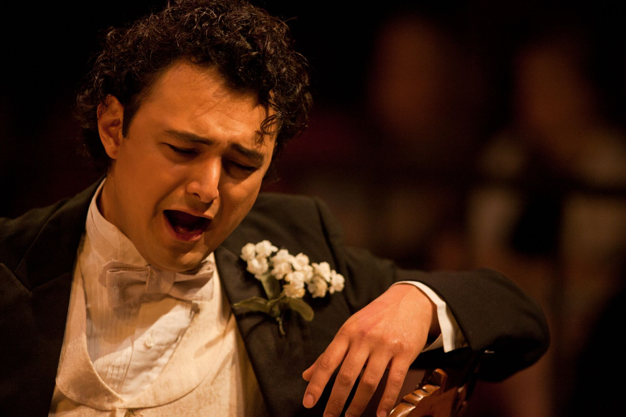 "From La Traviata (Alfredo) at Des Moines Metro Opera,""Courtesy of Des Moines Metro Opera"""