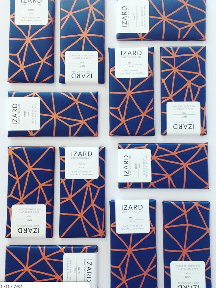 Izard Chocolate Labels