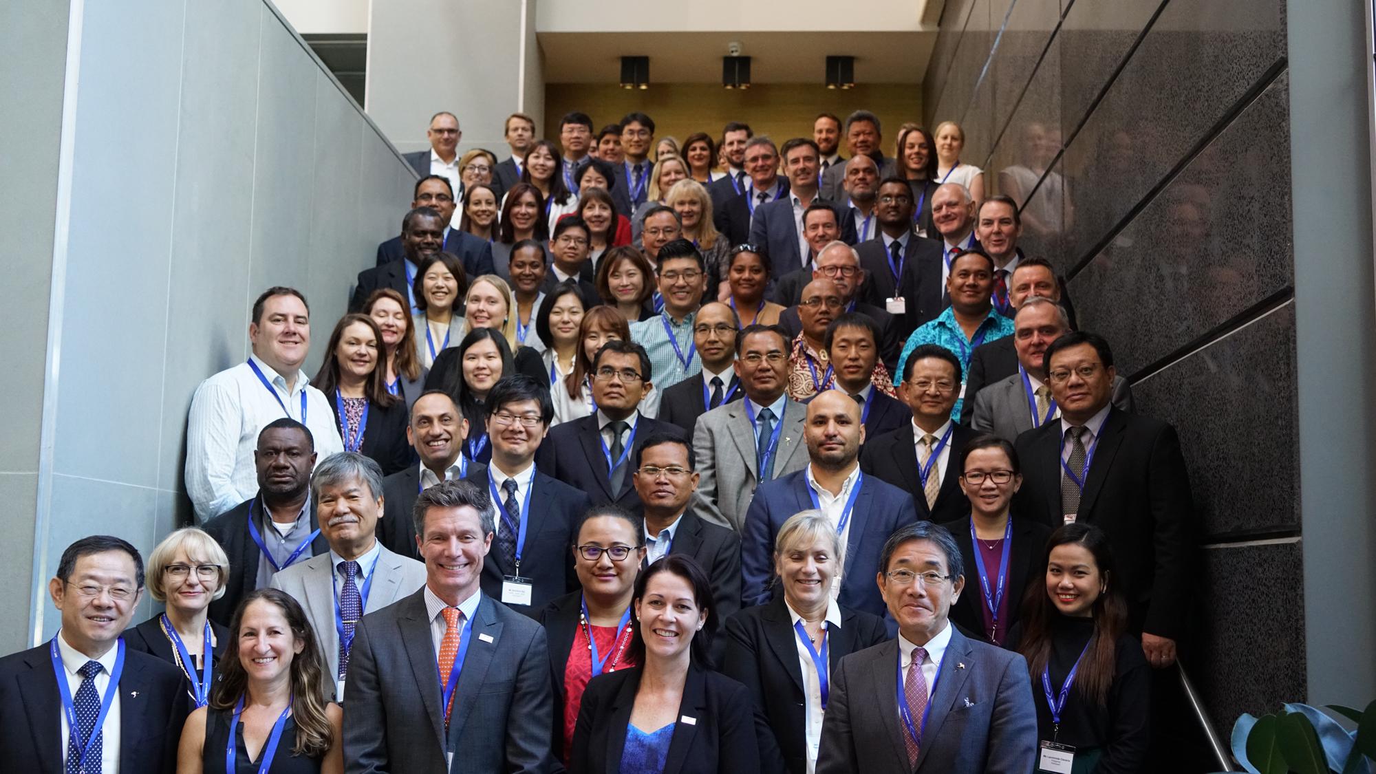 EMT conference attendees