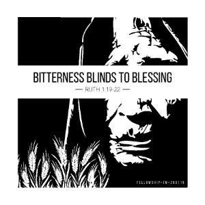naomi bitterness blinds to blessing