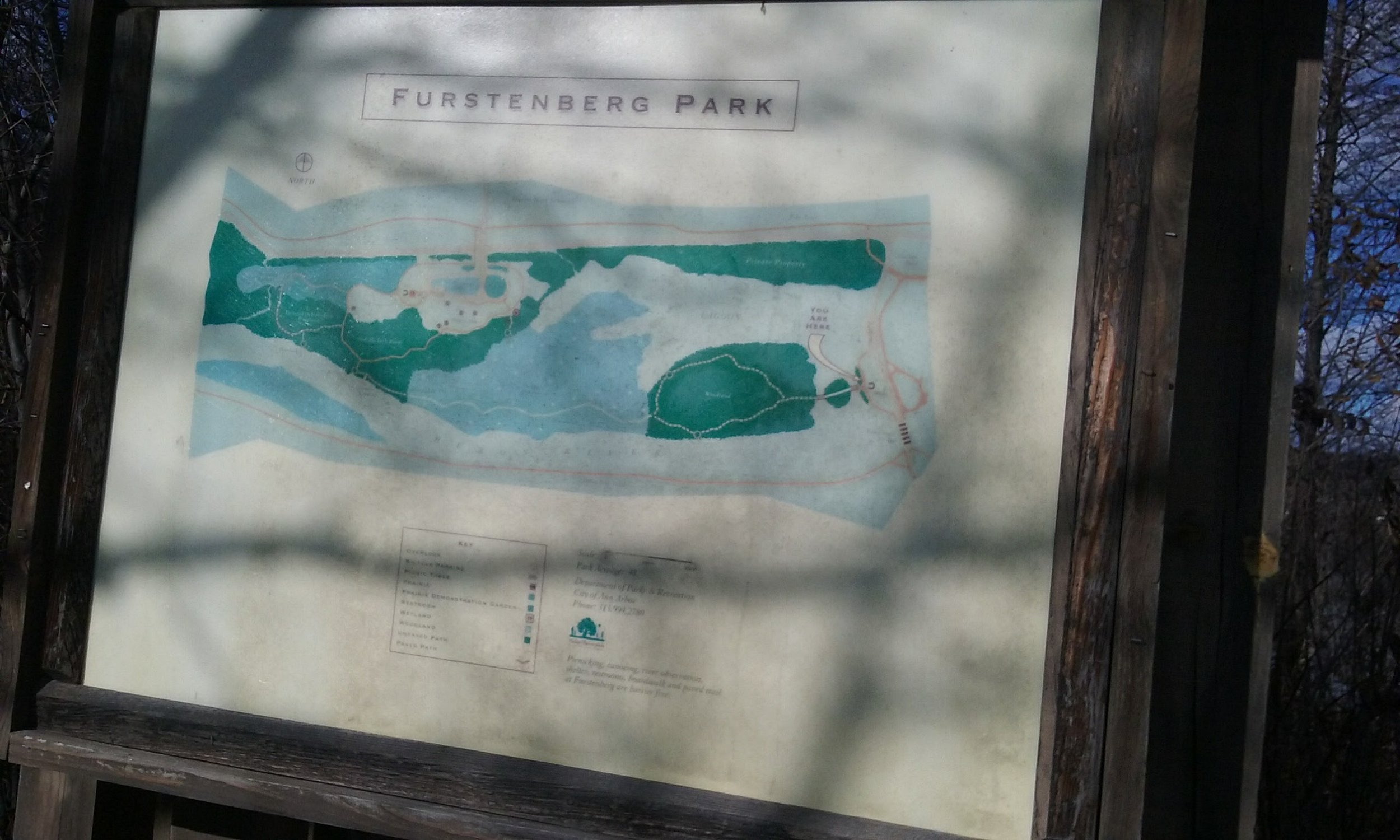 A Map at the Trail Head
