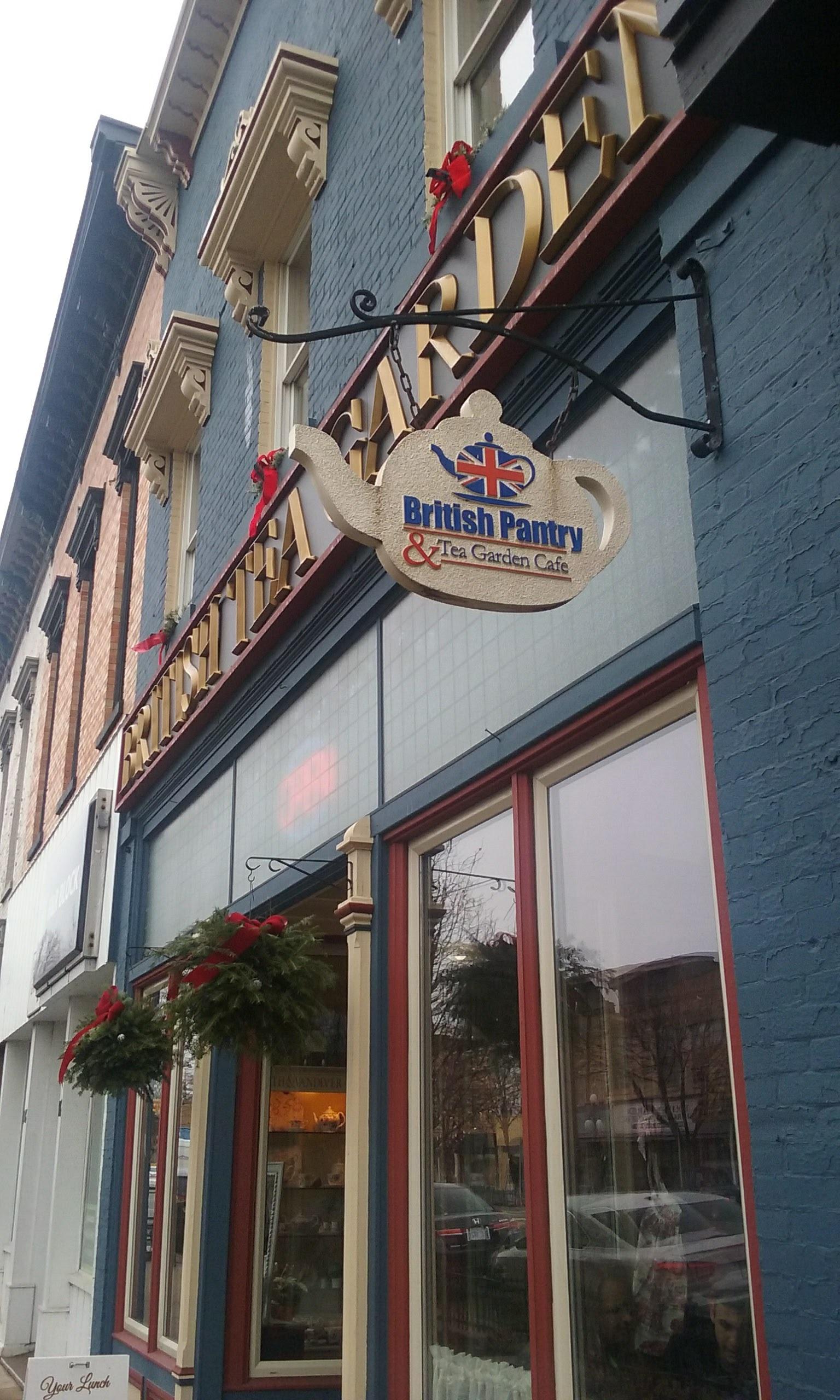 The British Tea Garden and Rooftop Cafe in Tecumseh, Michigan