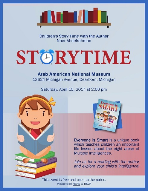 Arab American National Museum StoryTime