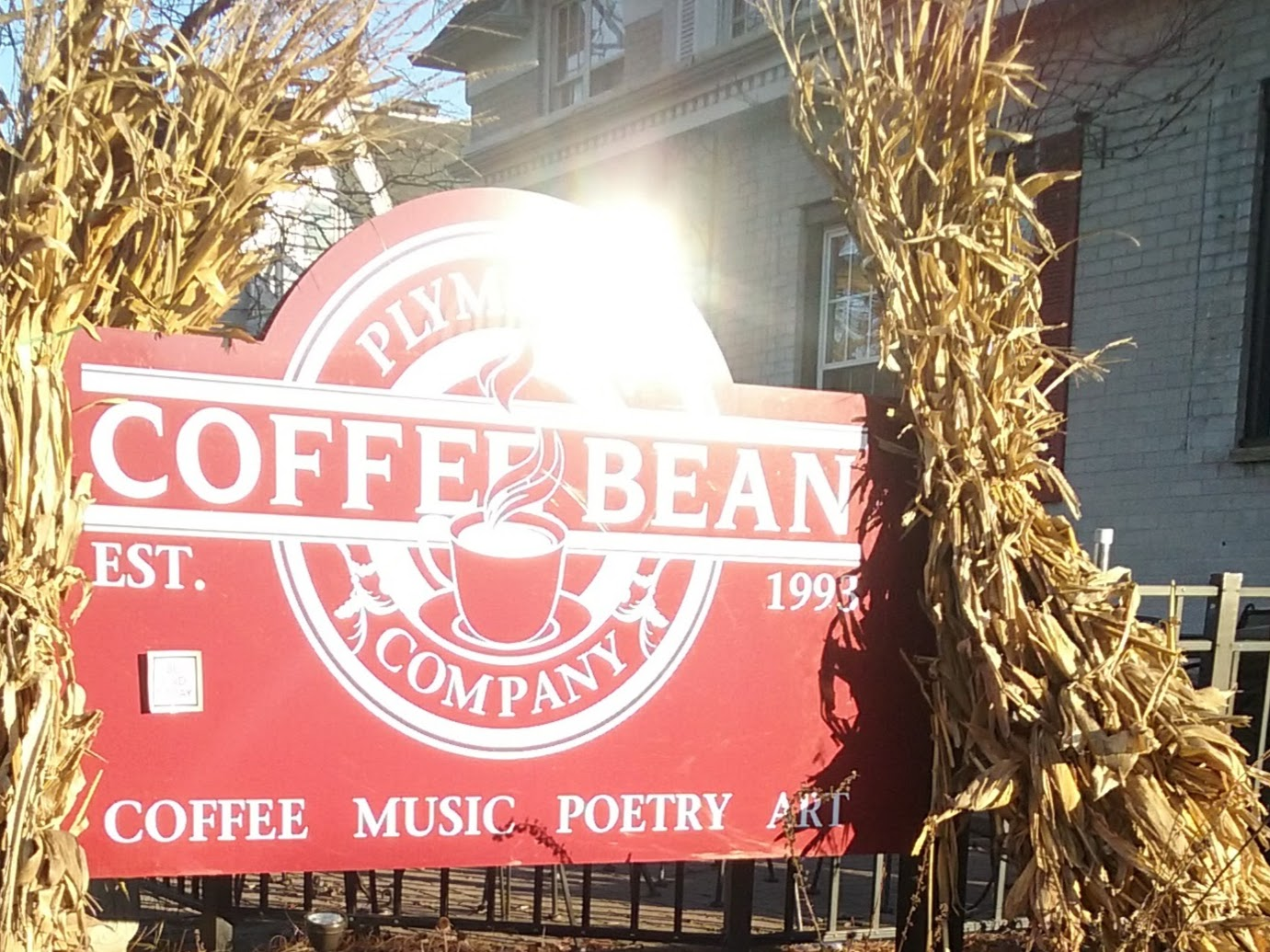 Welcome to the Plymouth Coffee Bean!