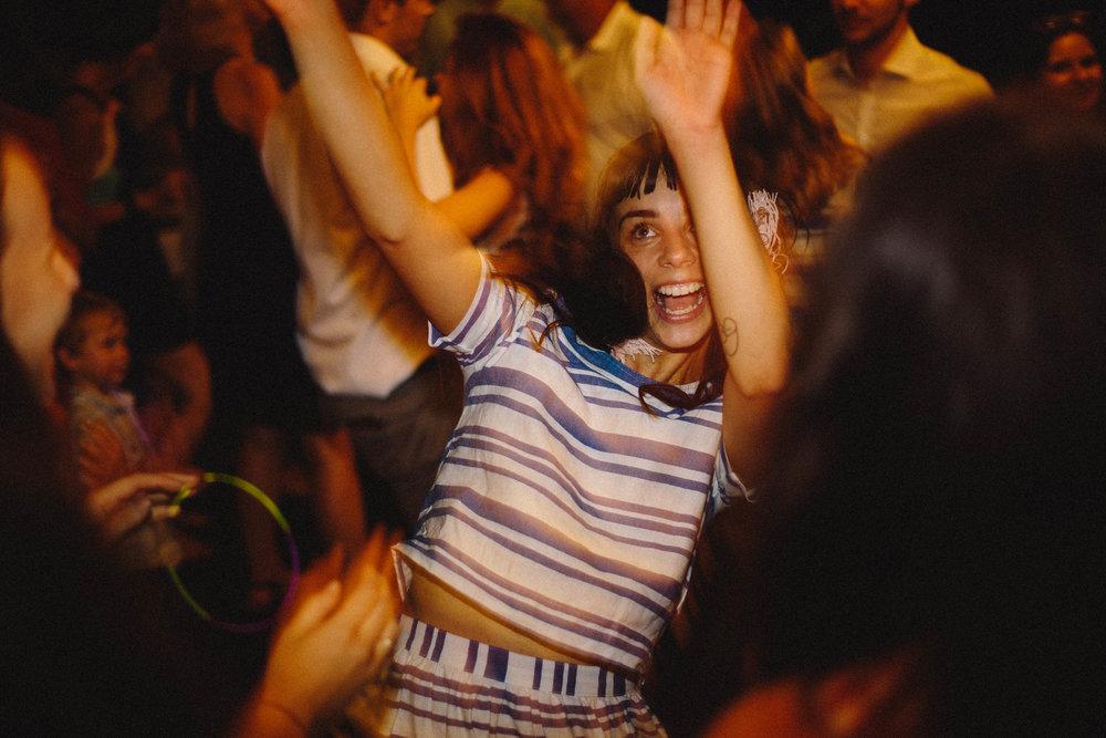 Sunshine Coast wedding photographer, girl dancing, party, wedding dance floor, epic dance shots
