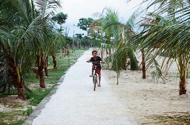 """""""I want to ride my bicycle, I want to ride my bike..."""" . Minolta XE-1 Ektar 100"""
