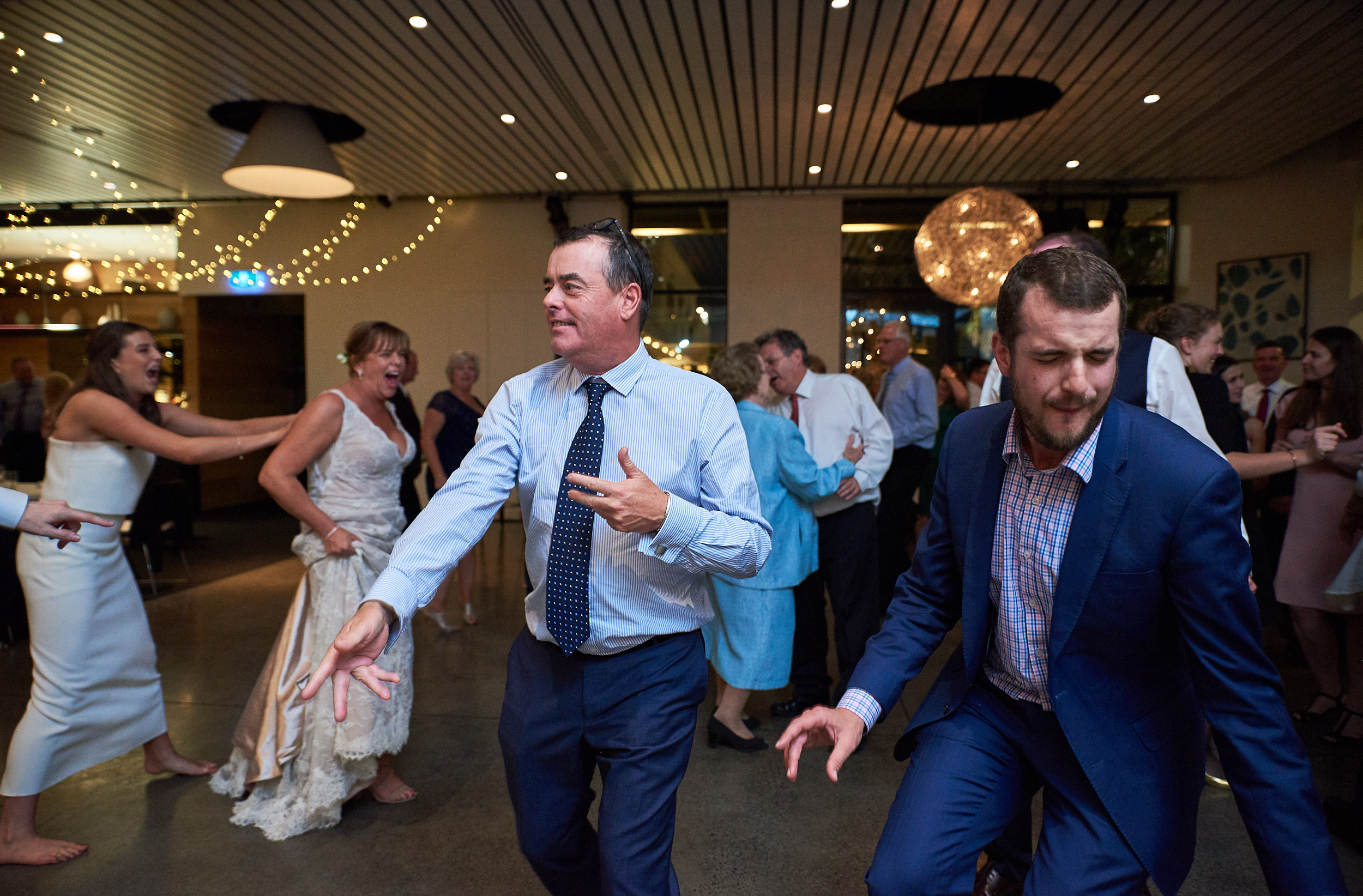 Guests partying at Encore St Kilda non-hipster wedding.jpg