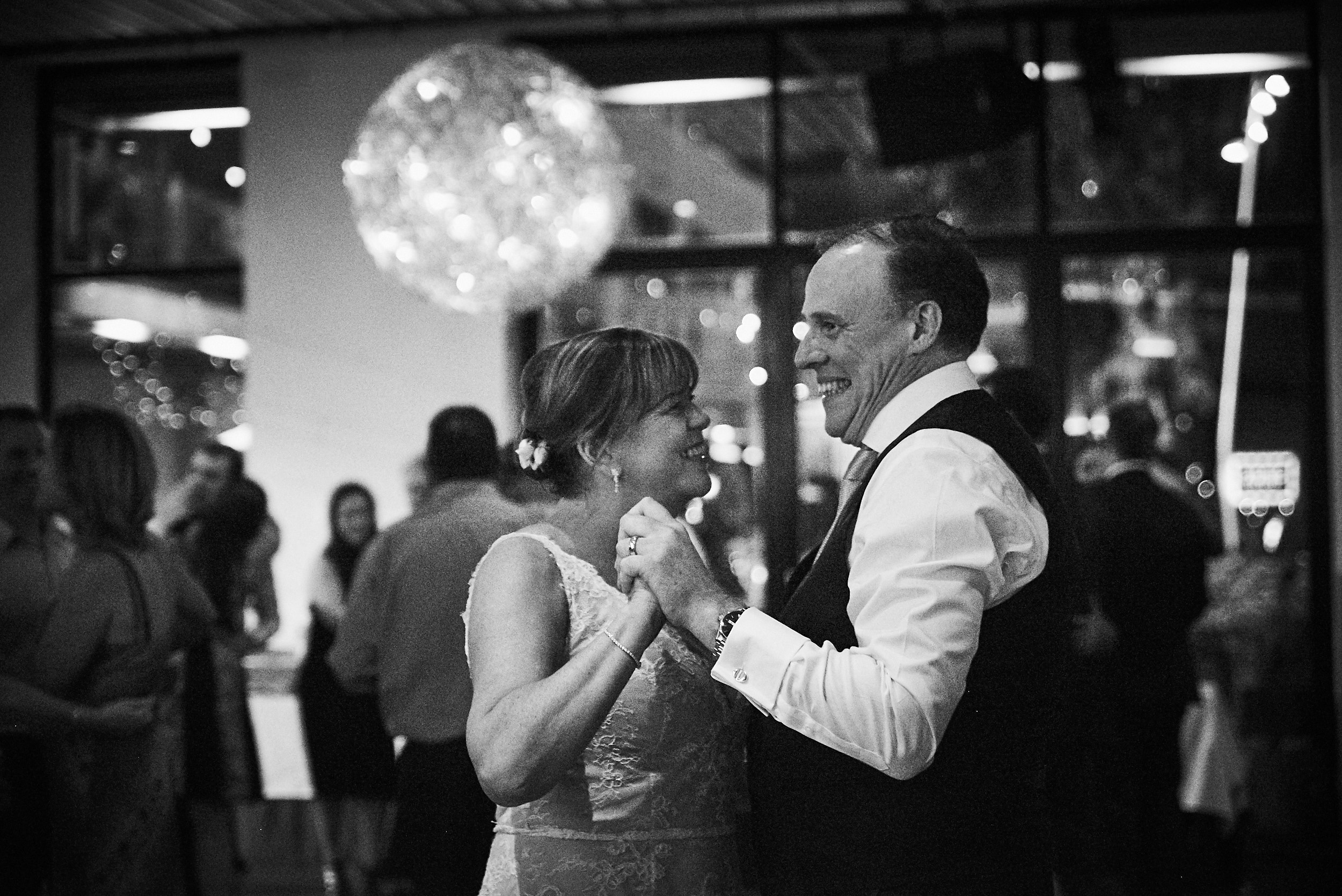 Bride and groom dancing at Encore St kilda non-hipster wedding reception.jpg