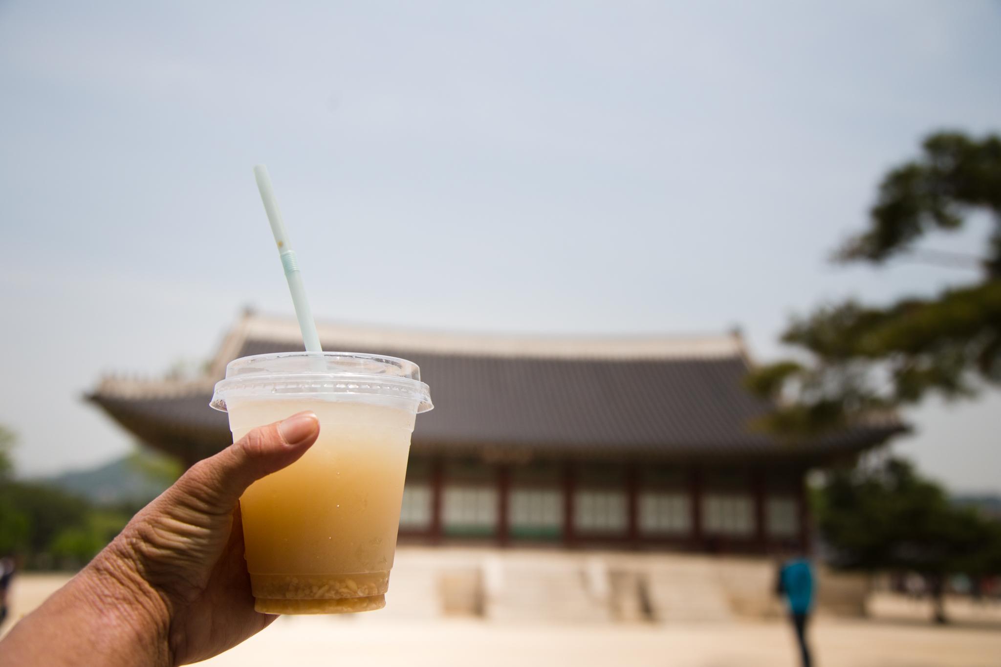 식혜 Sikhye (Sweet Rice Drink)