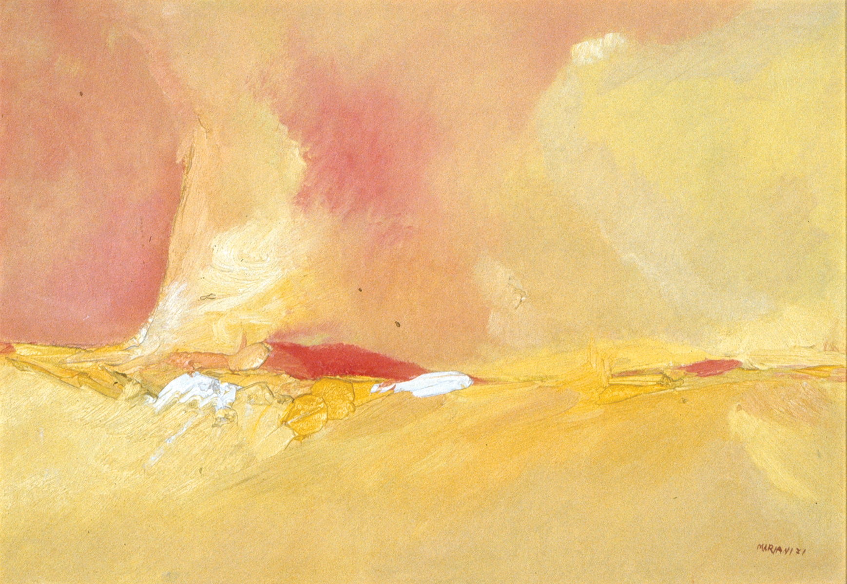 Sole sulla montagna / Sun on mountain. 1971