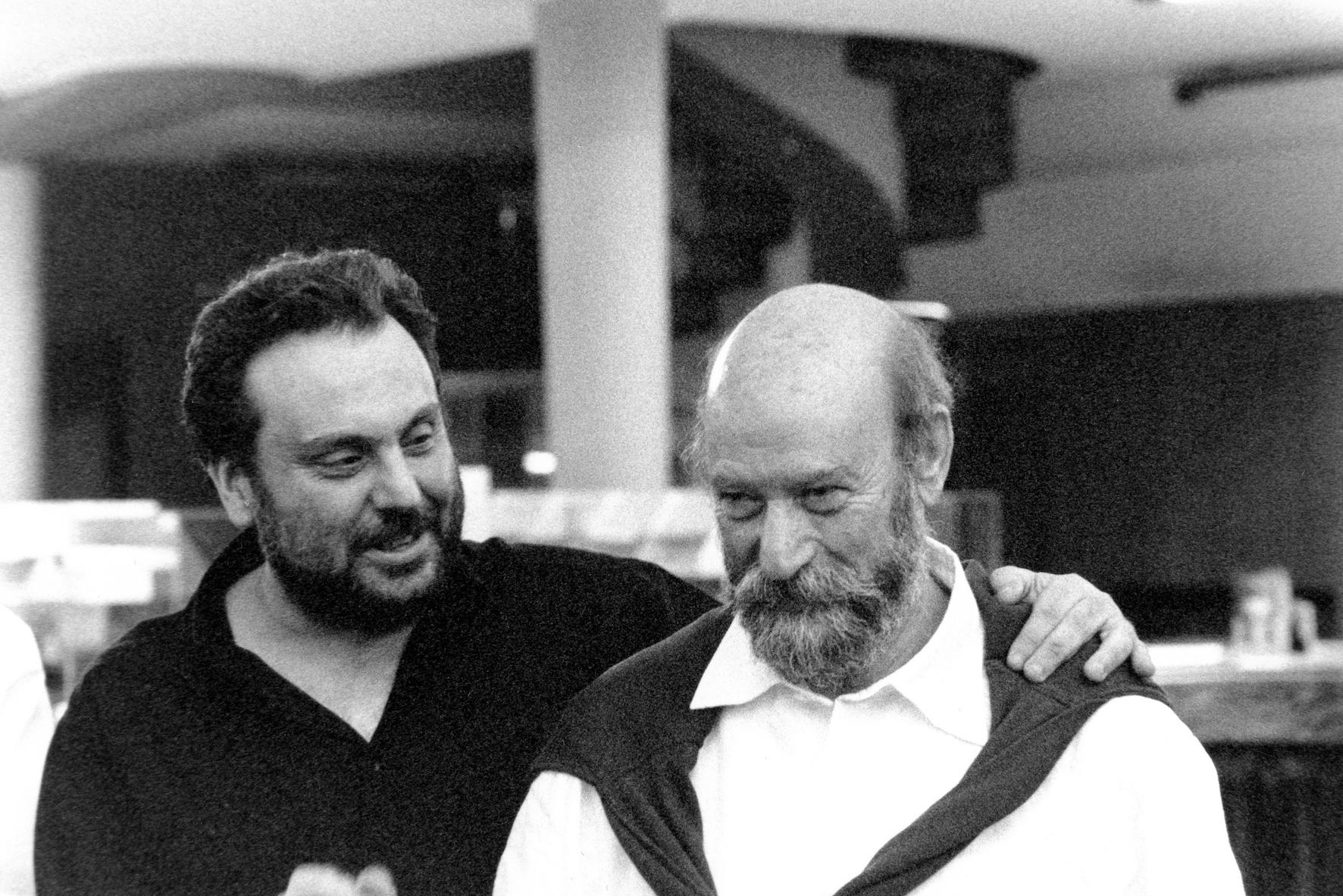 con Sergio Rendine, 2001