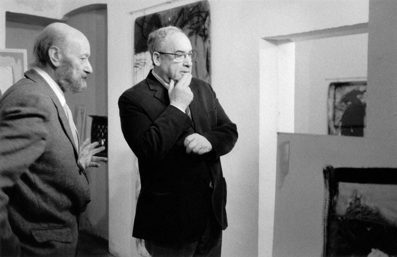 con Ottaviano Del Turco, 2007