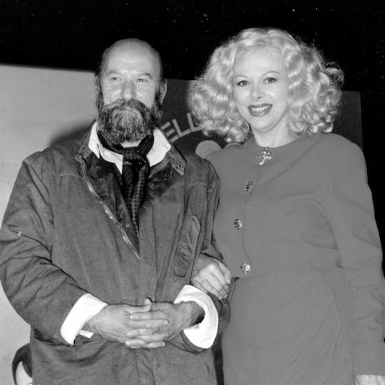 con Sandra Milo, primi anni '90