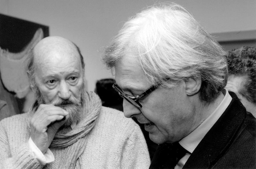 con Vittorio Sgarbi, 2011