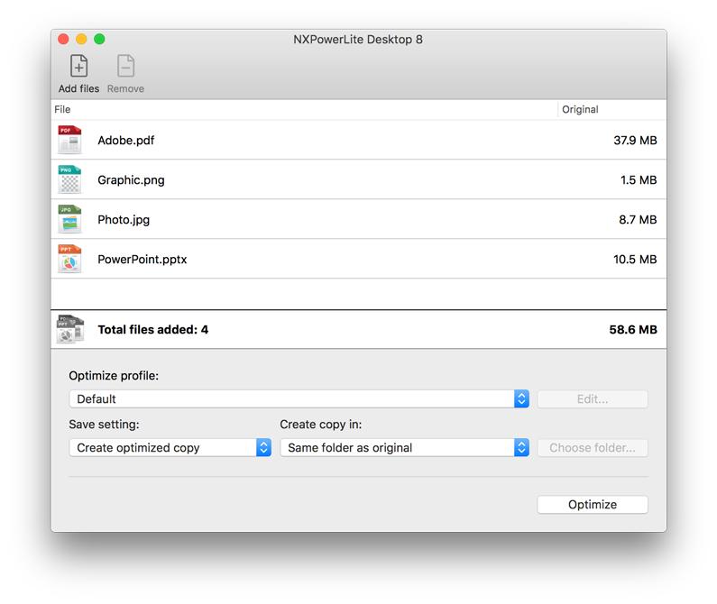 nxpowerlite-mac-8-main-dialog-files-loaded.png
