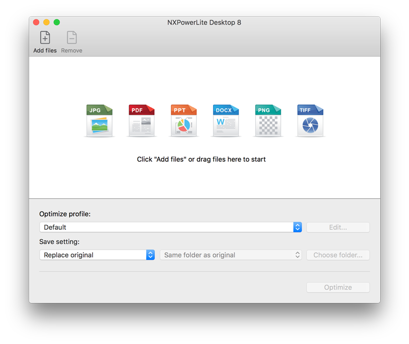 NXPowerLite Desktop (macOS)