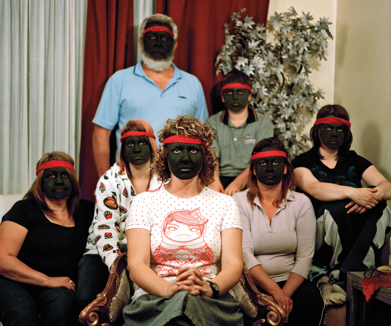 Bindi Cole   Not Really Aboriginal  (series) 2008/2016 digital print