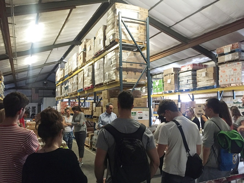 The storage facilities