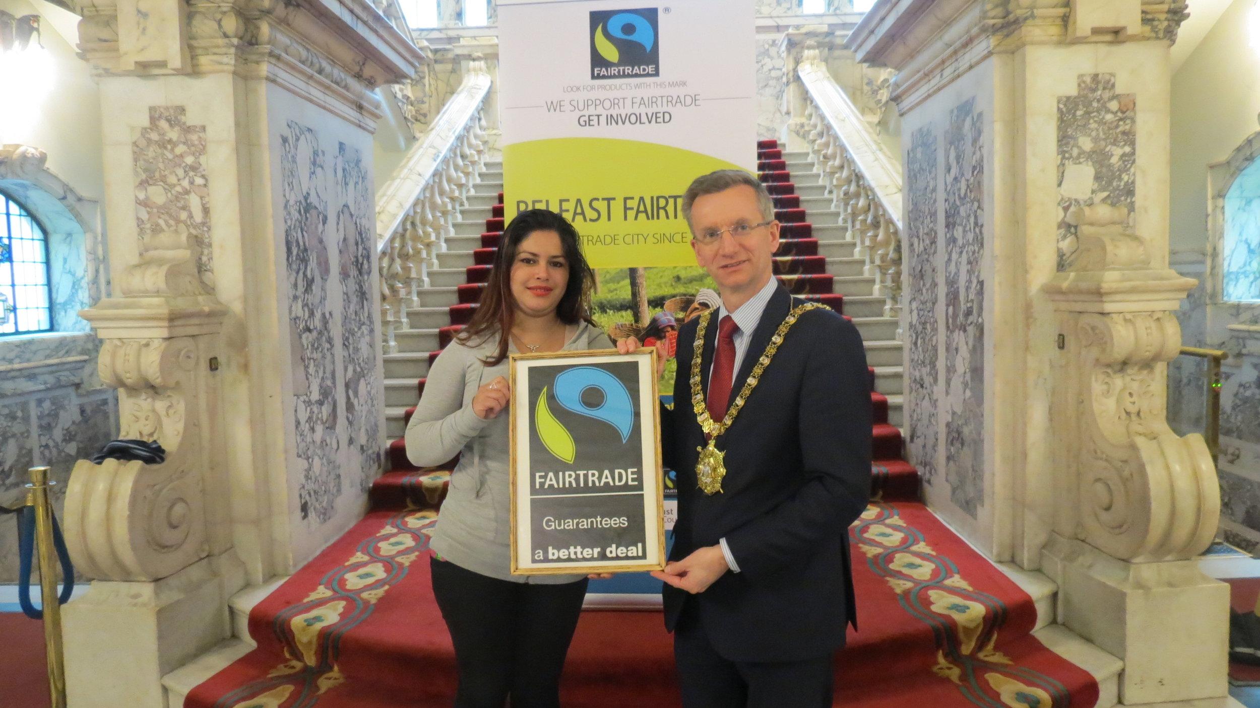 Lord Mayor Fairtrade.JPG