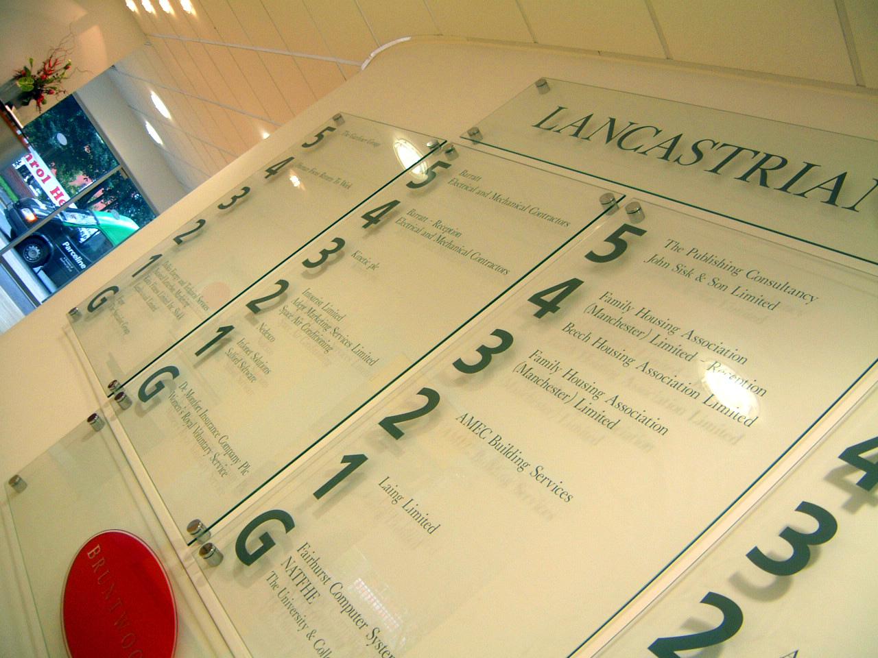 Bespoke glass directory