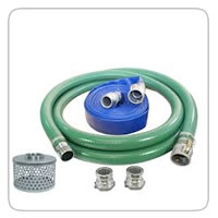 "Suction and Discharge Hose   2"", 3"" and 6"" Hose, Fittings, Q.D.'s, Strainers and more!"
