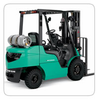Industrial Forklifts     Mitsubishi FG25N