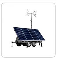 Solar Light Towers     Progress Solar SLT800      Progress Solar SHYB1200