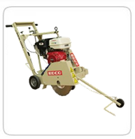 "Floor saws     Edco 20"" Self-Propelled Saw      Edco 20"" Self-Propelled Saw (Elec.)      Edco 26"" Self- Propelled Saw    (Exhaust Scrubbers Available)"