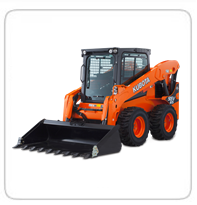 Skid Steers (7,000lb+)  (Exhaust Scrubbers available)    Bobcat S250      Kubota SSV65