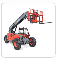 8K & 9K Rough Terrain Forklifts     Skyjack 843TH      JCB 509-42