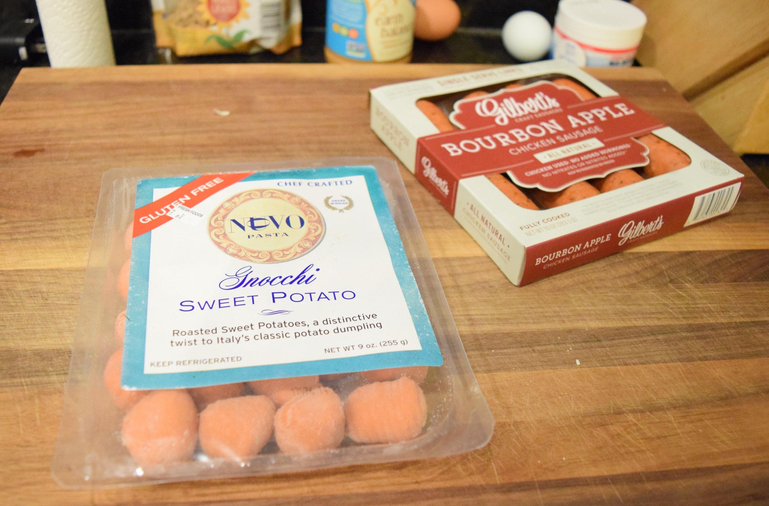 Nuovo Gluten Free Sweet Potato Gnocchi
