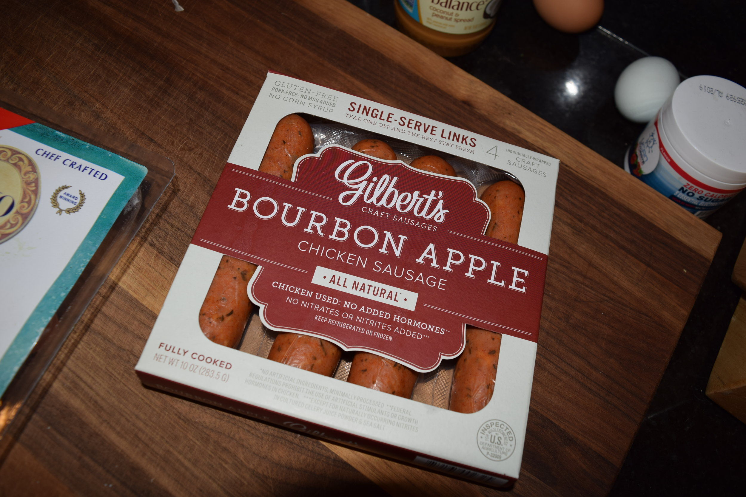 Gilberts Gluten-free Bourbon Apple Chicken Sausage