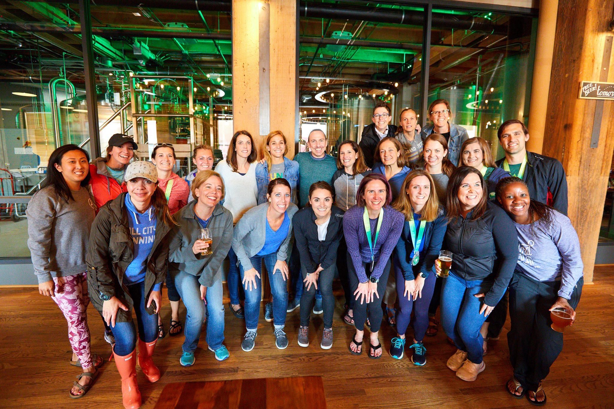 Oiselle Team Meet Up Post Grandmas Marathon