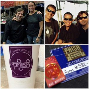 So Many Memories w / Chris Kuroda & Phish … and now we have.. COFFEE !!!