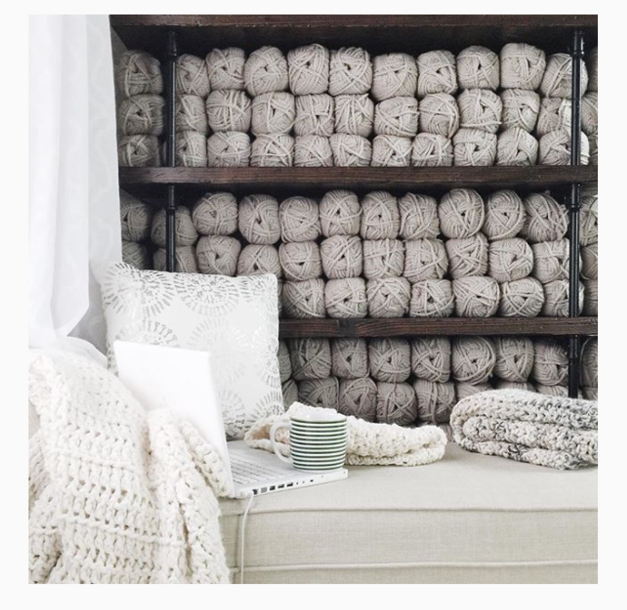 Knitwear designer Ozetta Takes Us Into Her Cozy Studio On Her Instagram