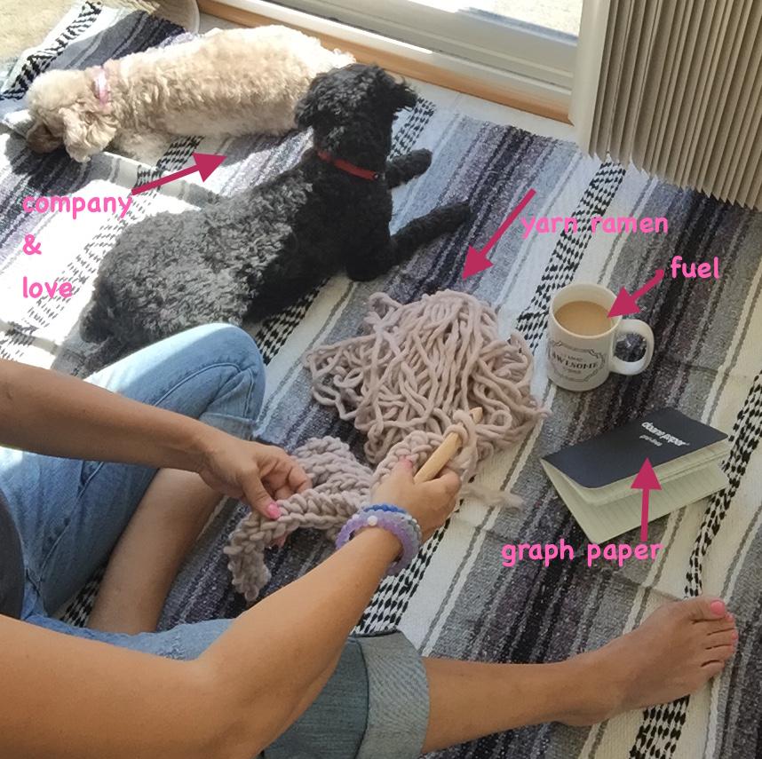 yarn ramen