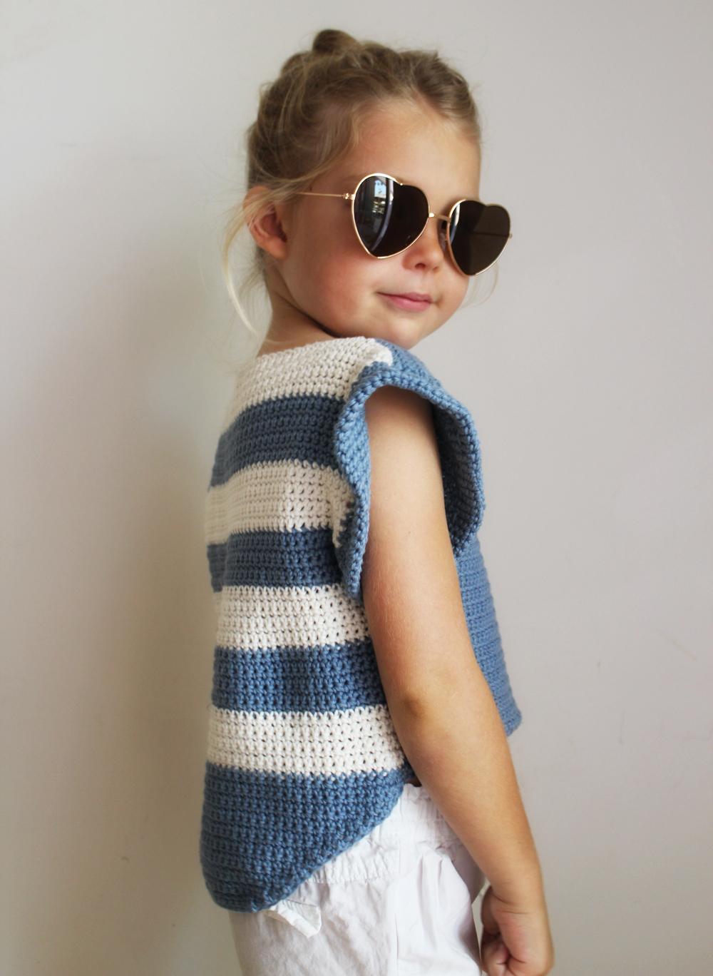Alana Crochet Top Pattern