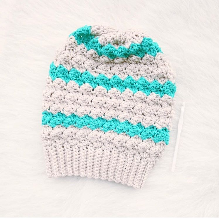 Twin Rivers Beanie By TL Yarncrafts