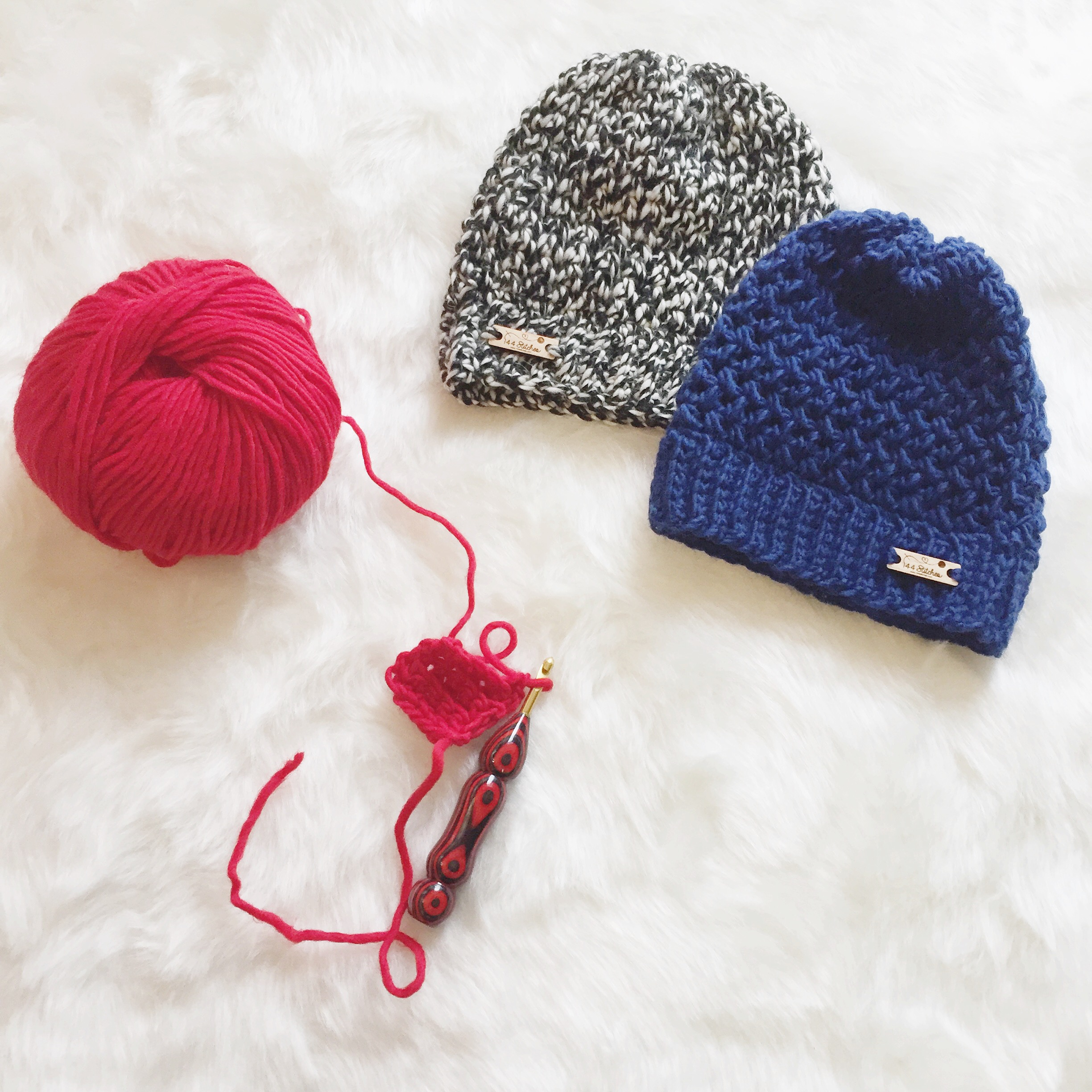 Hedwig Beanies by 144 Stitches